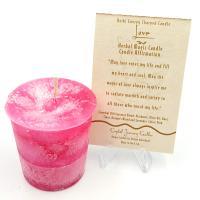 Love Herbal Magic Votive Candle