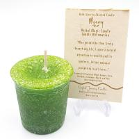 Money- Reiki Charged Votive Candle