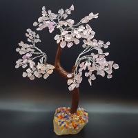 Rose Quartz Bonsai Gem Tree 200 Petal