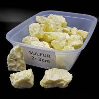 Pure Sulfur Crystals 2-3cm