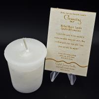 Cleansing - Reiki Charged Votive Candle