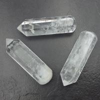 Quartz Crystal 6 Sided Wand, 6cm Long