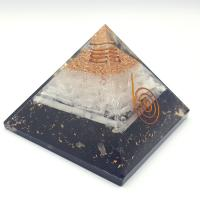Organite Generator with Tourmaline and Selenite