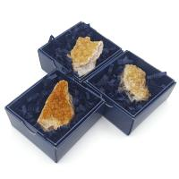 Citrine Cluster Specimen in Gift Box