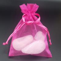 Fuschia Pink Organza Pouch