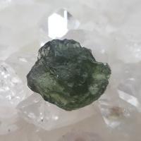 Genuine Green Moldavite Meteorite #45