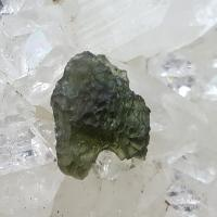 Genuine Green Moldavite Meteorite #51