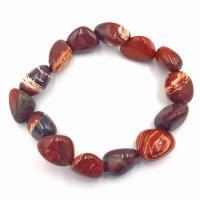 Red Jasper Tumble Stone Bracelet