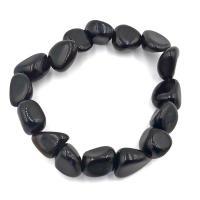 Black Obsidian Tumble Stone Bracelet