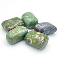 Extra Large Fuchsite Kyanite and Ruby Tumble Stones