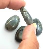 Side Drilled Labradorite Tumbled Stones