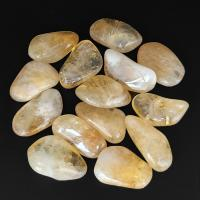 Extra Large Citrine Tumble Stone Crystals 3-3.5cm