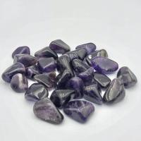 Small Amethyst Tumble Stones -Dark