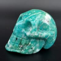Amazonite Crystal Skull No1