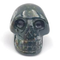 Bloodstone Crystal Skulls No1
