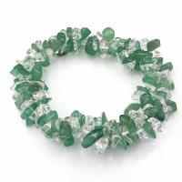 Aventurine & Quartz Crystal Bracelet