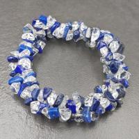 Lapis Lazuli and Quartz Crystal Bracelet