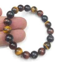 Mixed Tigers Eye Bead Bracelet
