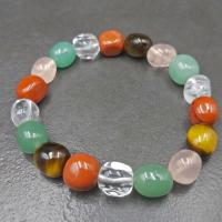 Mixed Gemstone Nugget Bracelet