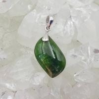 Chromian Diopside Pendant