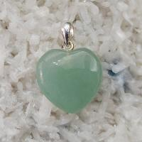 Aventurine Gemstone Heart Pendant