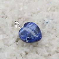 Sodalite Gemstone Pendant Heart