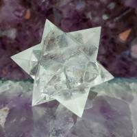 Quartz Merkaba Star 12 Point , No1