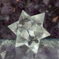 Quartz Merkaba Star 12 Point , No2