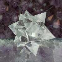 Quartz Merkaba Star 12 Point , No3