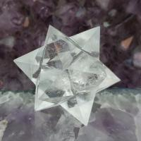 Quartz Merkaba Star 12 Point , No4