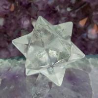 Quartz Merkaba Star 12 Point , No9