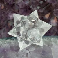 Quartz Merkaba Star 12 Point , No10
