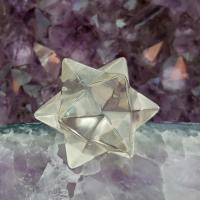 Smoky Quartz Merkaba Star 12 Point , No14