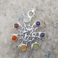 Pentagram Sun Chakra Pendant SP