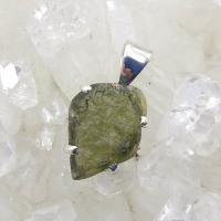 Genuine Green Moldavite Pendant #P105