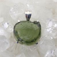 Genuine Green Moldavite Pendant #P109