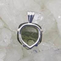 Genuine Green Moldavite Pendant #P111