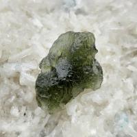 Genuine Green Moldavite Meteorite #2a
