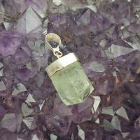 Natural Aquamarine Gem Stone Pendant No2