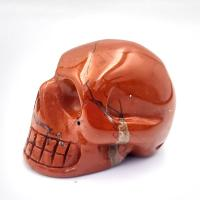 Red Jasper Crystal Skull No2