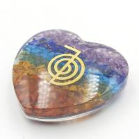Chakra Orgone Organite Heart 5cm