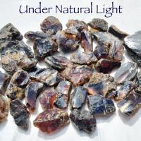 Blue Amber Natural 2-3cm Chunks - Sold Singly