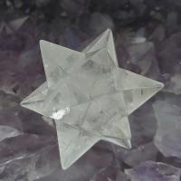 Quartz Merkaba Star 12 Point , No1b