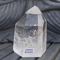 Polished Lemurian Seed Quartz Crystal No.45