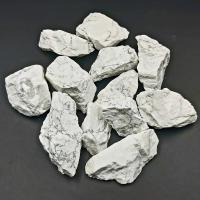White Howlite Raw Stone - Sold Singly