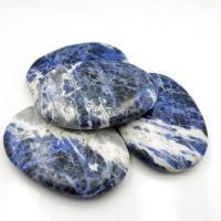 Sodalite Palm Stones Large