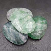 Fluorite Palm Stones Large