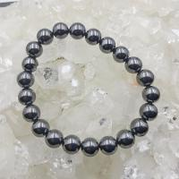 Hematite 8mm Round Bead Bracelets