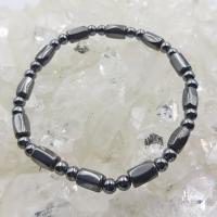 Hematite Twist Bead Bracelets