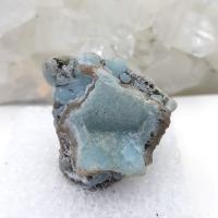 Blue Smithsonite Crystal Specimen #9
